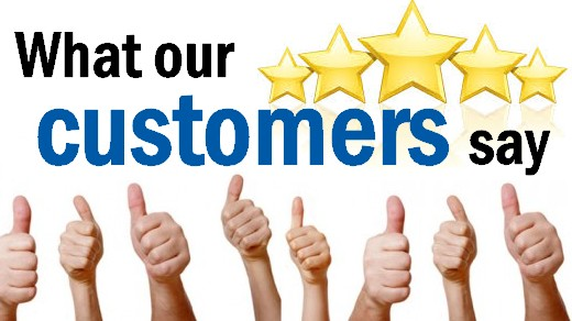 Our customers feedback