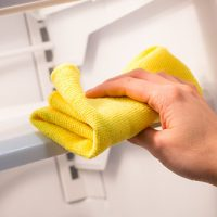 Eliminate odors from refrigerator