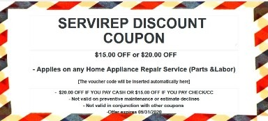 SERVIREP DISCOUNT COUPON